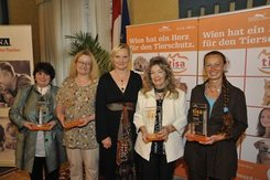 Tierschutz Award an Evelyn Kolar